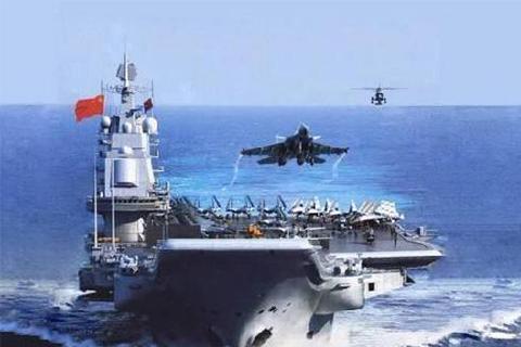 美嘲笑我國2億買廢鐵,遼寧號,航母群作戰能力