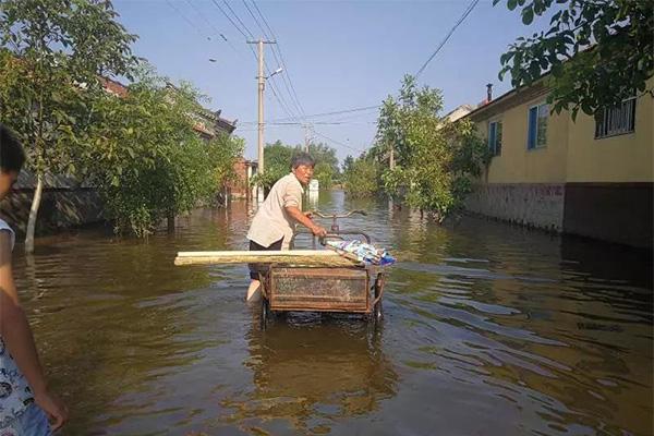 寿光再发泄洪通知,强降雨天气将会持续两天