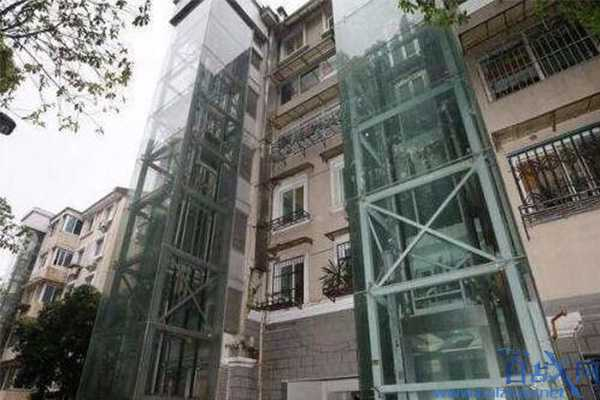 城镇小区加装电梯,小区加装电梯