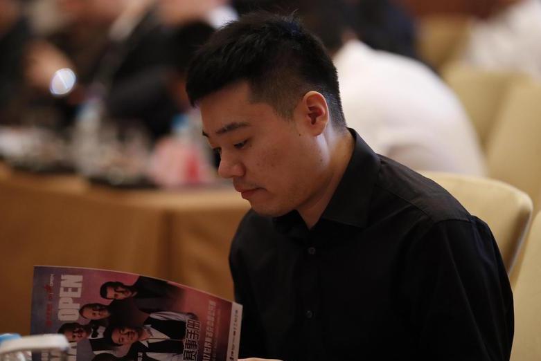 2017斯诺克中国公开赛发布会现场