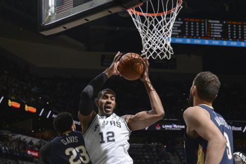 2014年NBA总决赛马刺重回前八,球队中心莱纳德将复出