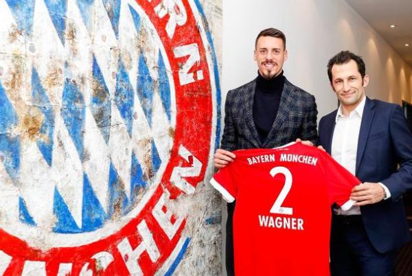 拜仁官方公布德國國腳瓦格納簽約成功