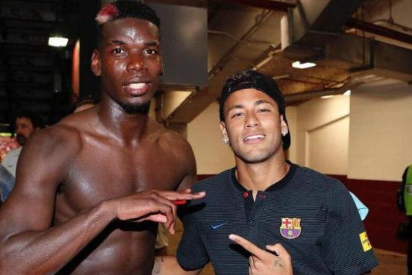 博格巴期待能够和内马尔踢球,对其很是看好