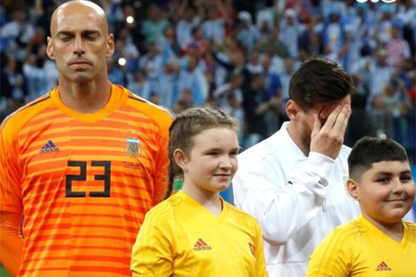 世界杯最低级失误,卡巴列罗成了阿根廷罪人