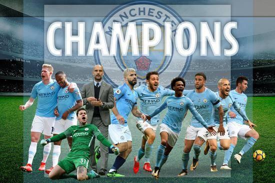 英超 | 曼城卫冕英超冠军 利物浦1分差距遗憾亚军