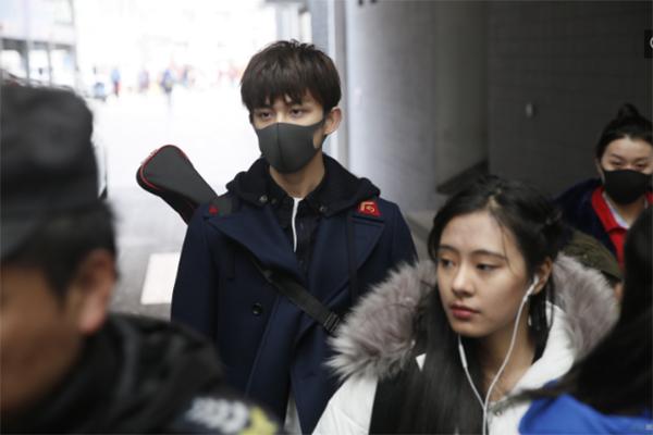 吴磊入围北电复试,北京电影学院校园