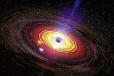 黑洞里面是什么?黑洞吞噬的东西去哪了