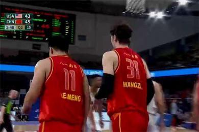 男篮军运会胜美国 中国男篮98-79大比分战胜美国男篮