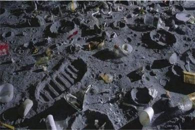 人类在月球已留下200吨垃圾是怎么回事? 月球飞船残骸甚至还有人类排泄物