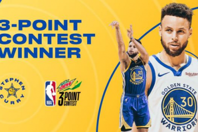库里三分大赛31分再夺冠军,创造NBA全明星赛多项历史新纪录