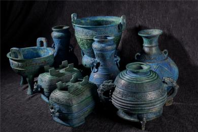 日本多年的曾伯克父青铜组器成功回国 近年来被盗掘出土流失海外