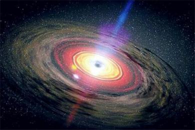 黑洞是怎么样影响星系演化进程的 黑洞对星系演化有何影响