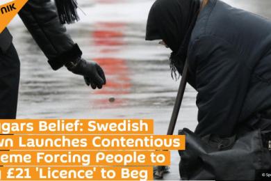 """乞丐居然要买证才能行乞?瑞典这个小镇要求乞丐""""持证上岗"""""""