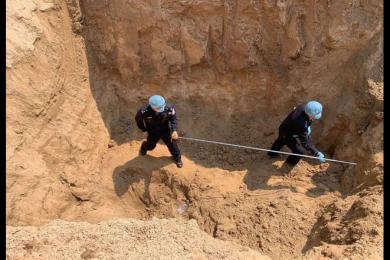 河南4名儿童被埋土方内身亡时间原因初步查明 认定为刑事案件