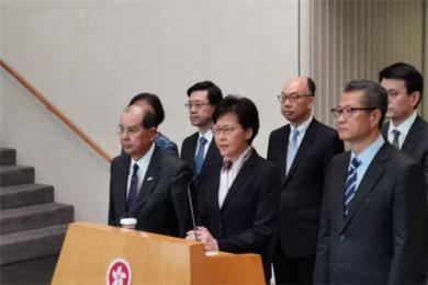 林郑月娥回应罢工且就近期香港情况发声 称极端分子将香港推向万劫不复之地