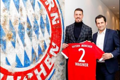 拜仁官方公布德国国脚瓦格纳签约成功