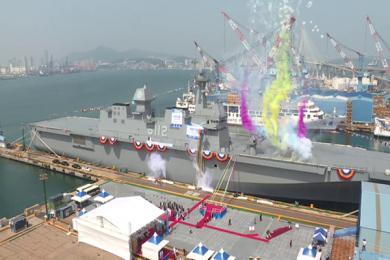 韩国将建准航母是为应对中日?韩国准航母搭载16架F35B战机