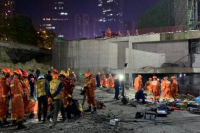 贵州工地垮塌事故致8死,事故原因将尽快查明