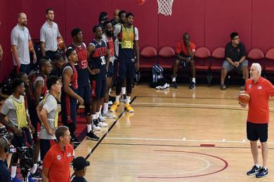美国男篮15人名单确定 篮球世界杯阵容17日出炉