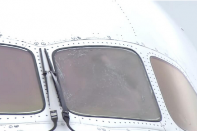 驾驶舱玻璃突然破裂,日航客机飞大连途中被迫返航