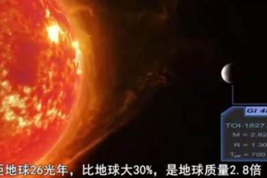 科学家发现超级地球,距离我们仅有26光年距离!