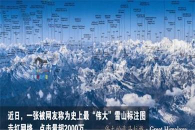 牛!川大一教授拍出喜马拉雅山脉雪山图 世界屋脊雄伟壮丽震撼人心