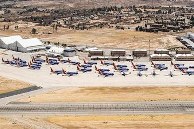 波音737max现身飞机墓地是怎么回事? 处于禁飞令期间所有飞机遭雪藏